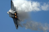 F-22 afterburner