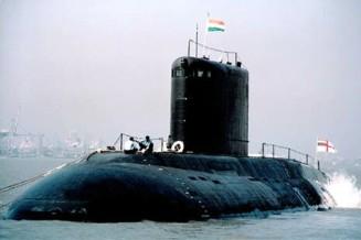 India navy submarine