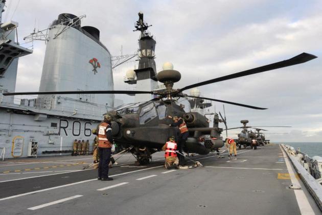 HMS Ocean 1 Apache