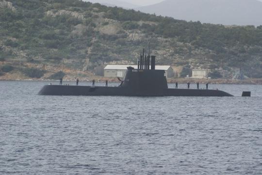 Submarine 3 Papanikolis