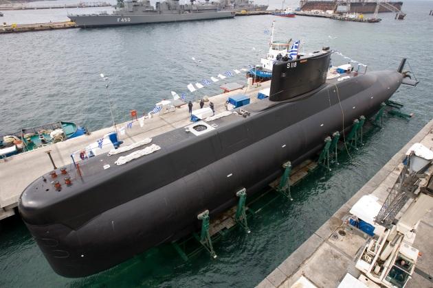 Submarine Okeanos 1