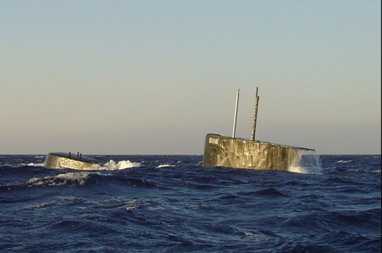 Submarine Okeanos 2