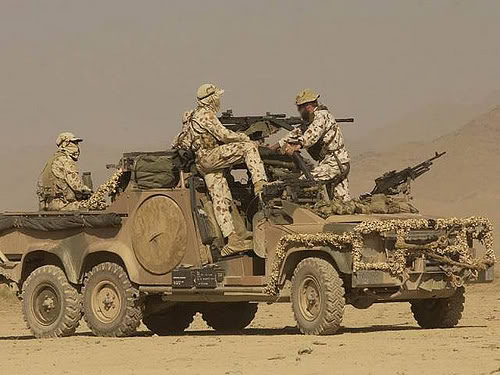 Australian Army Land Rover