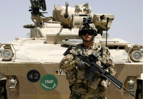 German Bundeswehr takes over Quick Reaction Force in Afghanistan