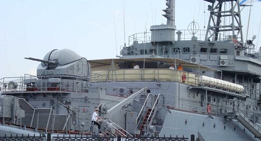 Landing ship Caesar Kunikov