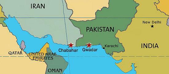 Gwadar map