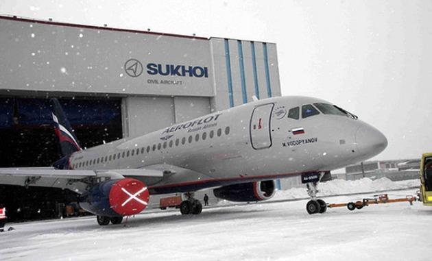 Sukhoi Superjet 100 2