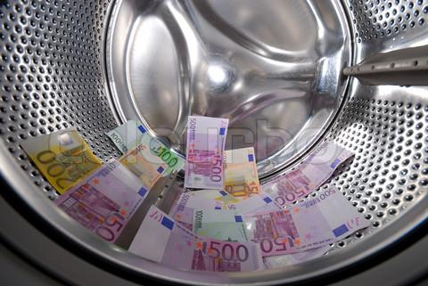 Money laundering in the washing machine