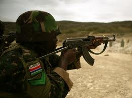 Gambia soldier