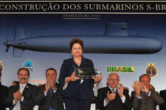 Rousseff submarine 1