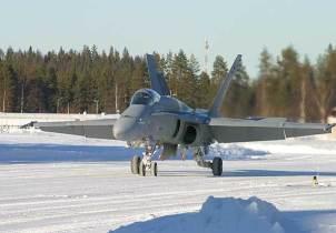 Finland F-18 1