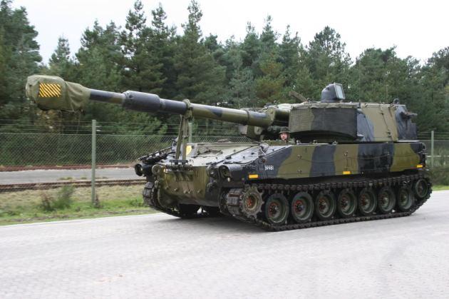 Denmark M109A3
