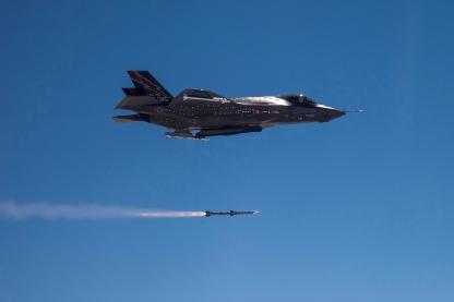 F-35A AIM-120
