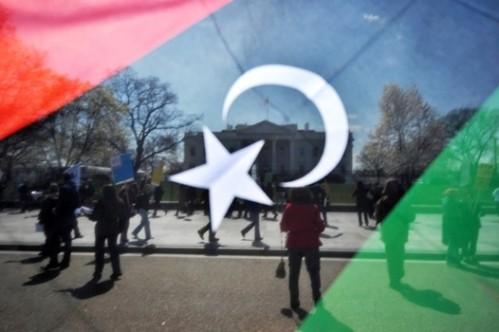 Libya flag 1