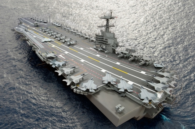 USS Gerald R. Ford 1