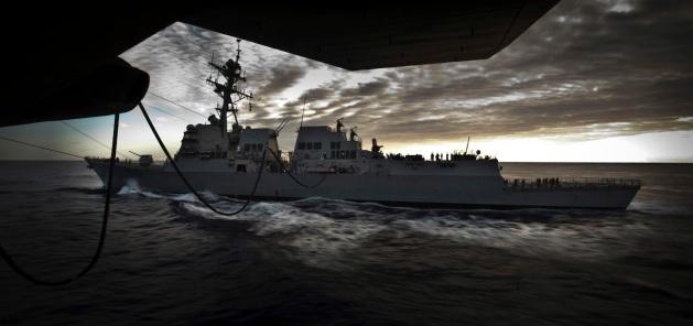 Navy refuel 9