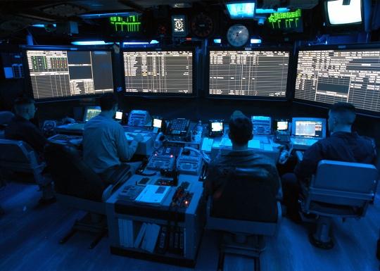 USS George Washington Air Traffic Control Center