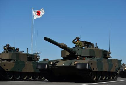 Japan Army tanks