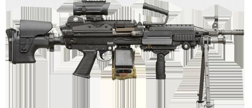 Minimi LMG Mk3 1
