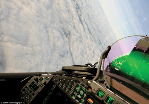 Eurofighter 1 cockpit