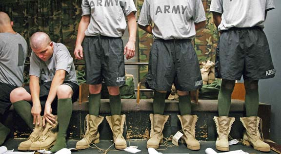 US Army boots 1