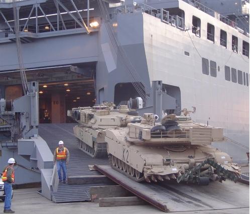 Sealift 1 Abrams