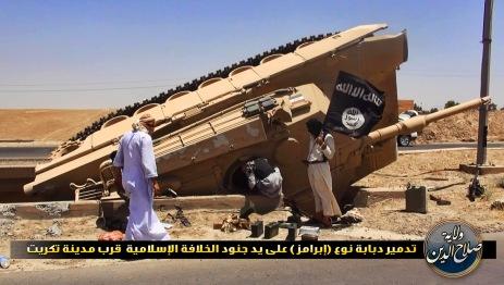 Iraq ISIS tank