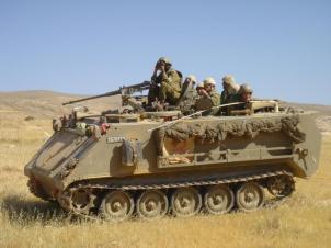 Israel Army M-113 1