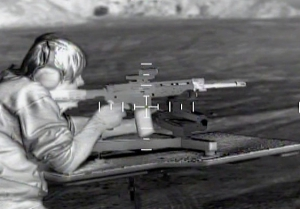 Thermal camera rifle