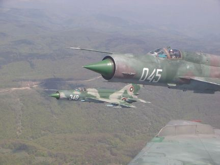 Bulgaria Air Force MiG-21