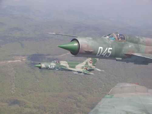 Bulgaria Air Force MiG-21