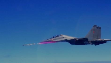 India Su-30 Astra missile