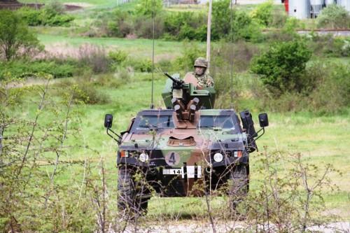 Greece Army VBL 1