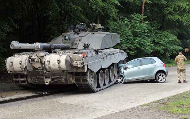 Challenger 2 accident Toyota
