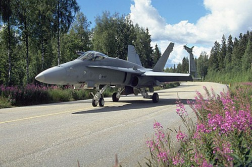 Finland Air Force F-18