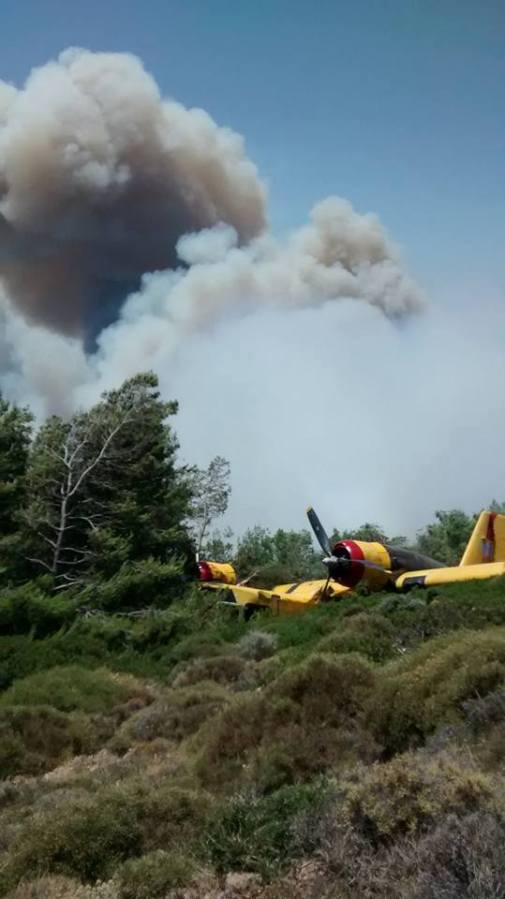 Greece Air Force Canadair CL-215 accident