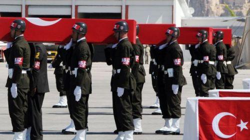 Turkey Army funeral 1