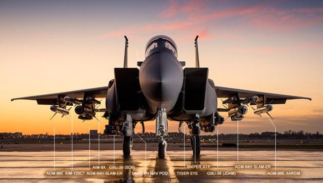 Saudi Arabia F-15SA Boeing 1