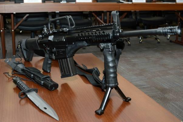 Turkey rifle MPT-76 2