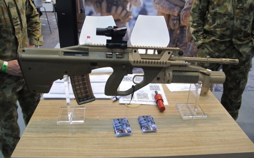 Australia F90 EF88 rifle