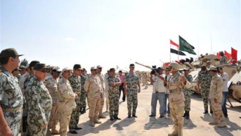 Egypt soldiers in Yemen