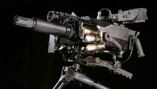GDTS Mk40 grenade launcher