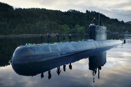 Norway Navy Ula submarine 1