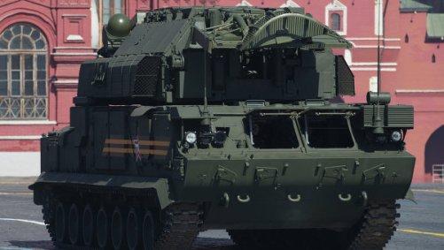 Russia Army TOR-M2U 1