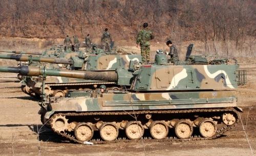 Samsung K9 howitzer