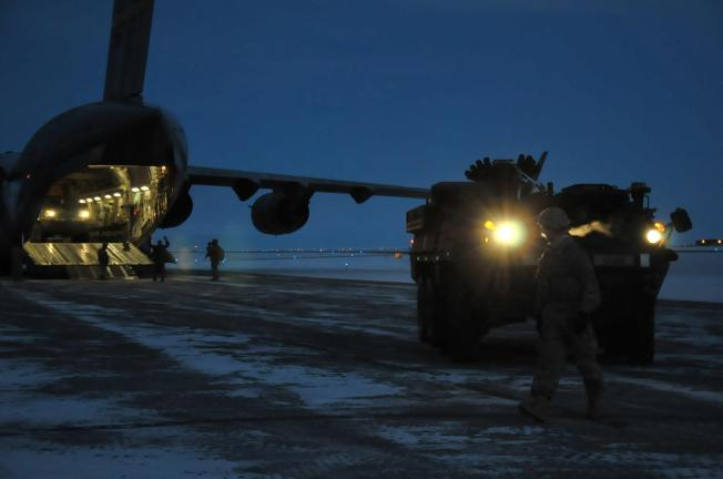 Stryker 21 Arctic Circle
