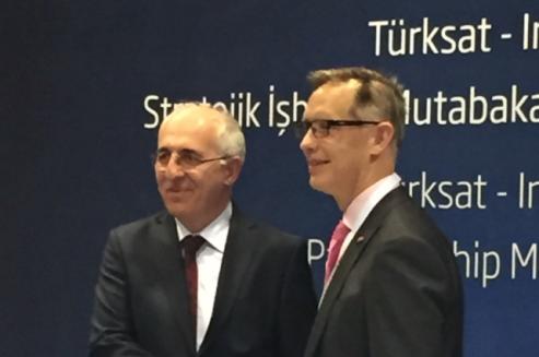 Inmarsat - Turksat MoU