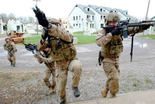 US Army Rangers CQC 1
