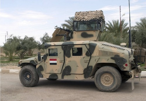 Iraq Army Humvee 1
