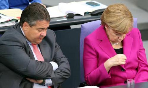 Merkel - Gabriel